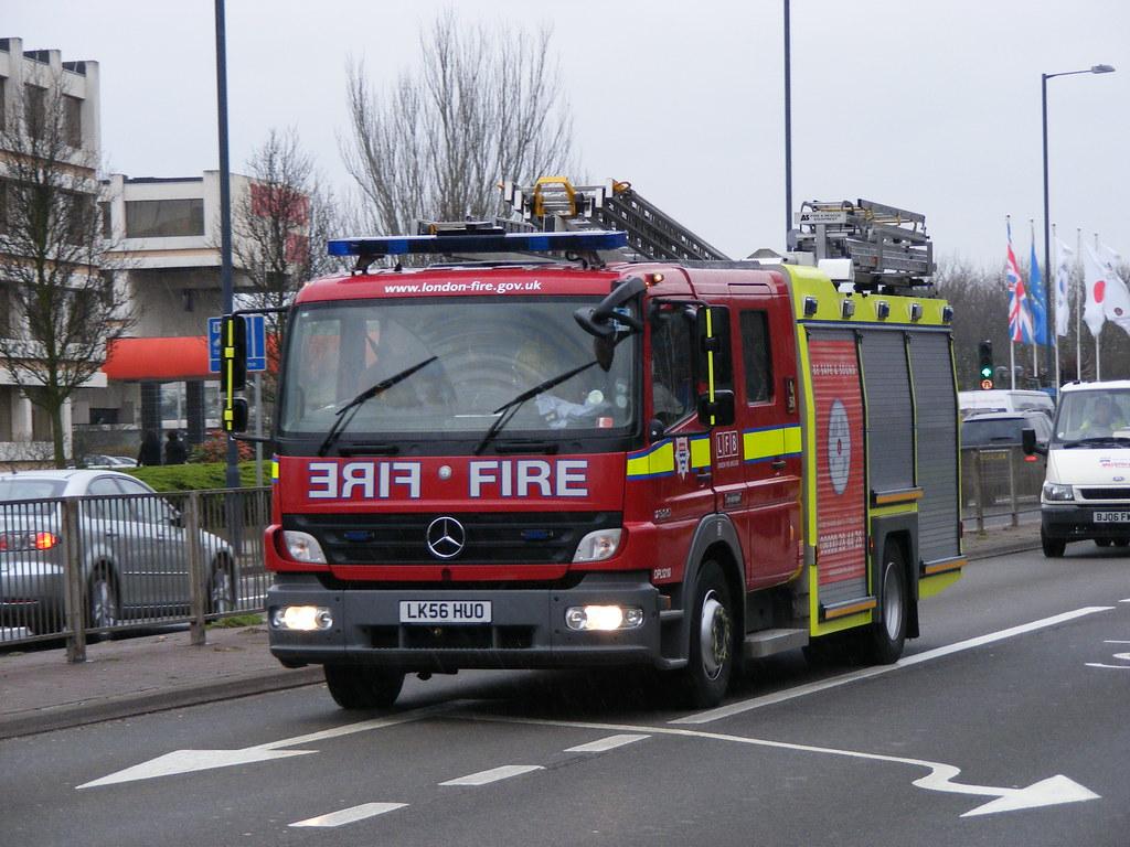Fire Service Mercedes Lk56huo London Fire Brigade Flickr