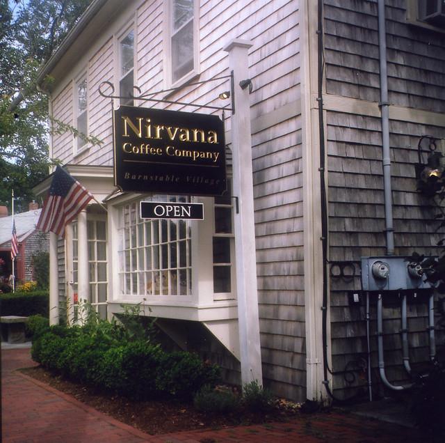Nirvana Coffee Co, Barnstable, Cape Cod.