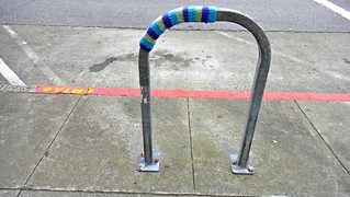 Clement Street Bicycle Rack Cozy | by Lynn Friedman