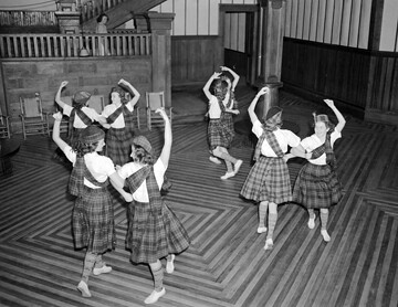 ConDev2411E Fayetteville, NC, November 1939, Flora MacDonald College Dancers | by State Archives of North Carolina