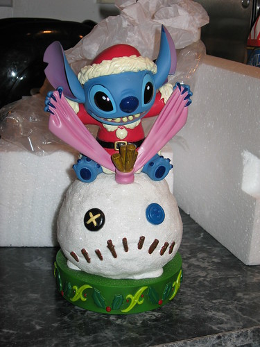 Light Up Santa Stitch with Snow Scrump | by tikistitch