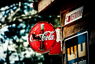 Coca-Cola Sign | by Mason Sklut