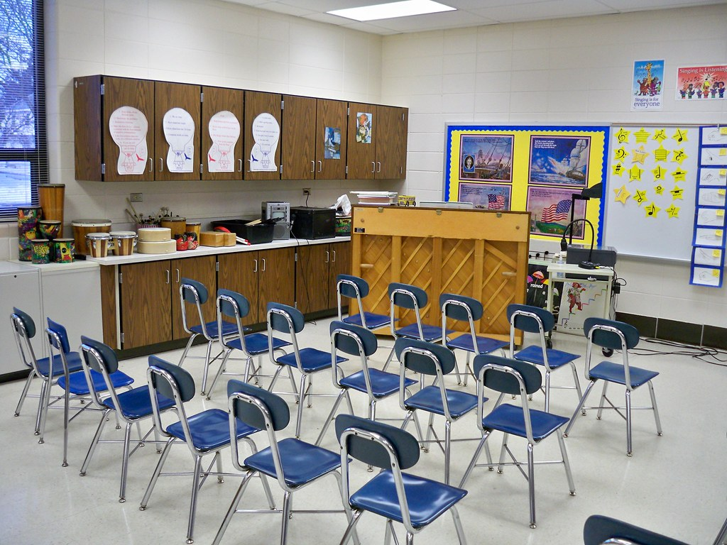 Classroom Design Grants ~ Day left front of my classroom notice the overhead