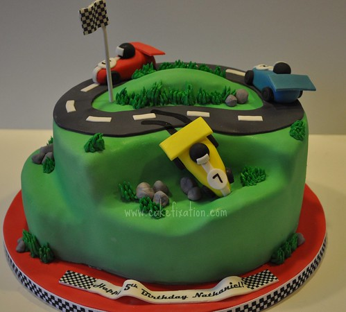 Race Car Cake | by Stephanie's Cakes
