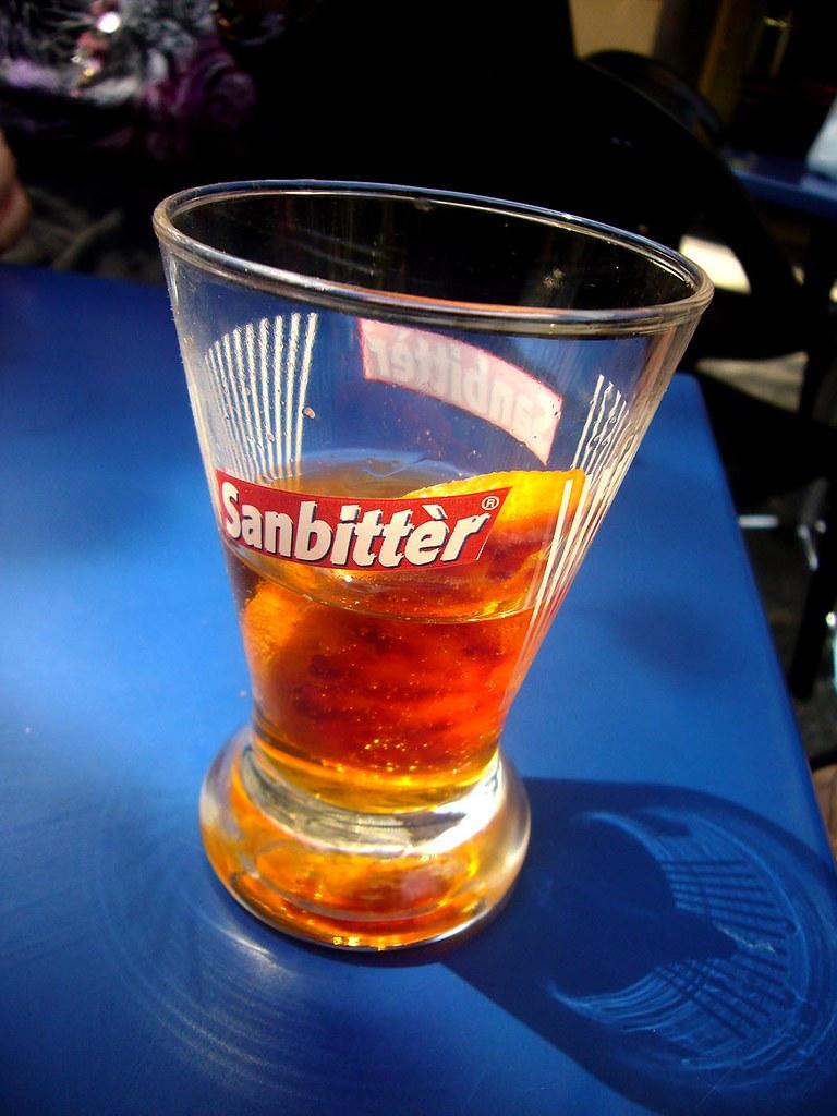Aperitif - bitter drink   Non alcoholic bitter drink ...