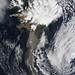 Eruption of Eyjafjallajökull Volcano, Iceland April 19
