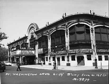The San Juan Concert Hall Once Stood On Broadway At The Co