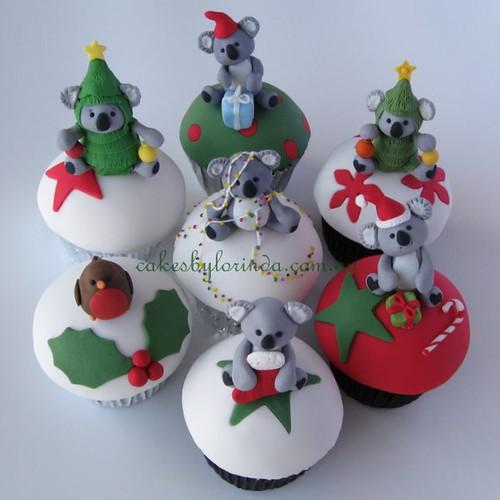 Cupcakes de Koala Koalas And Robin Cupcakes