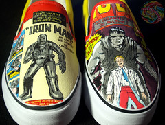 Vintage Comic Shoes | by damndirtyangel