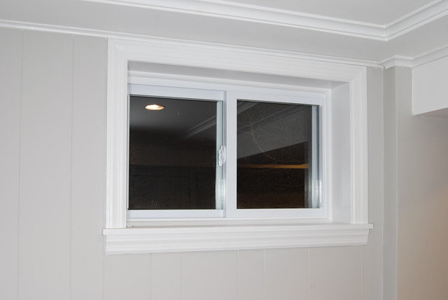basement windows replaced new double hung replacement