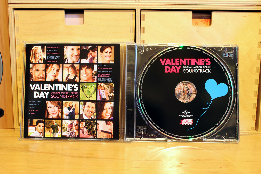 Valentine S Day Movie Soundtrack Cd Taylor Swift Makes Her Flickr