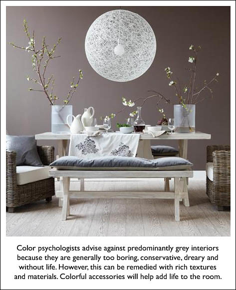 Feng Shui And Beyond: Meaning Of Grey In Color Psychology