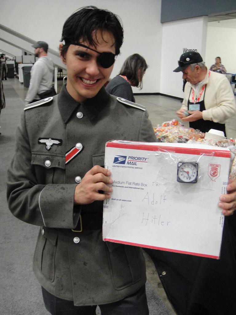 Nazi Tom Cruise launch...