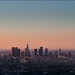 Sunrise over down town Los Angeles