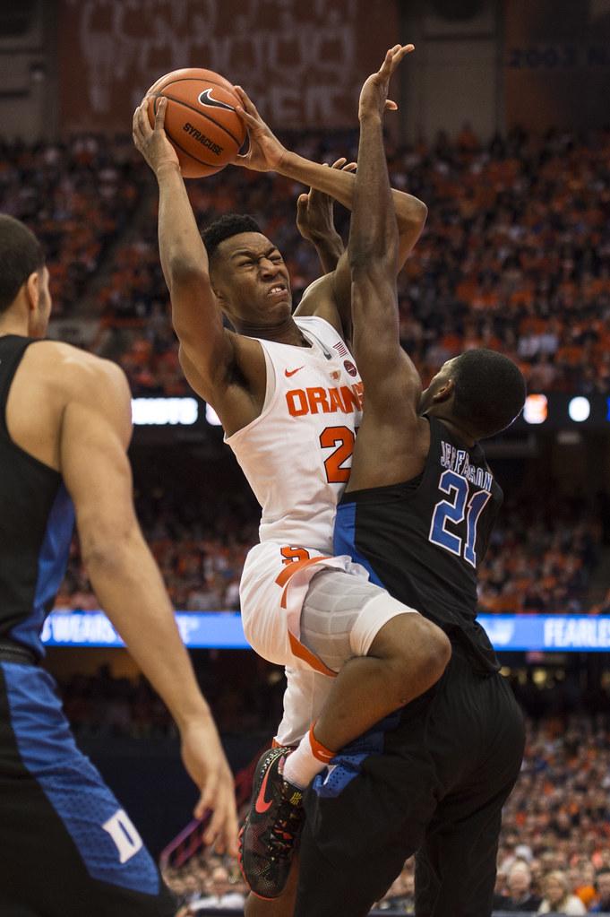 Su Basketball Syracuse Vs Duke The Newshouse Flickr