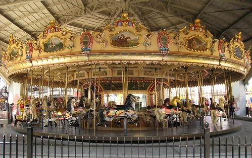 Luna Park Carousel Melbourne Australia Ptc 30 Restored