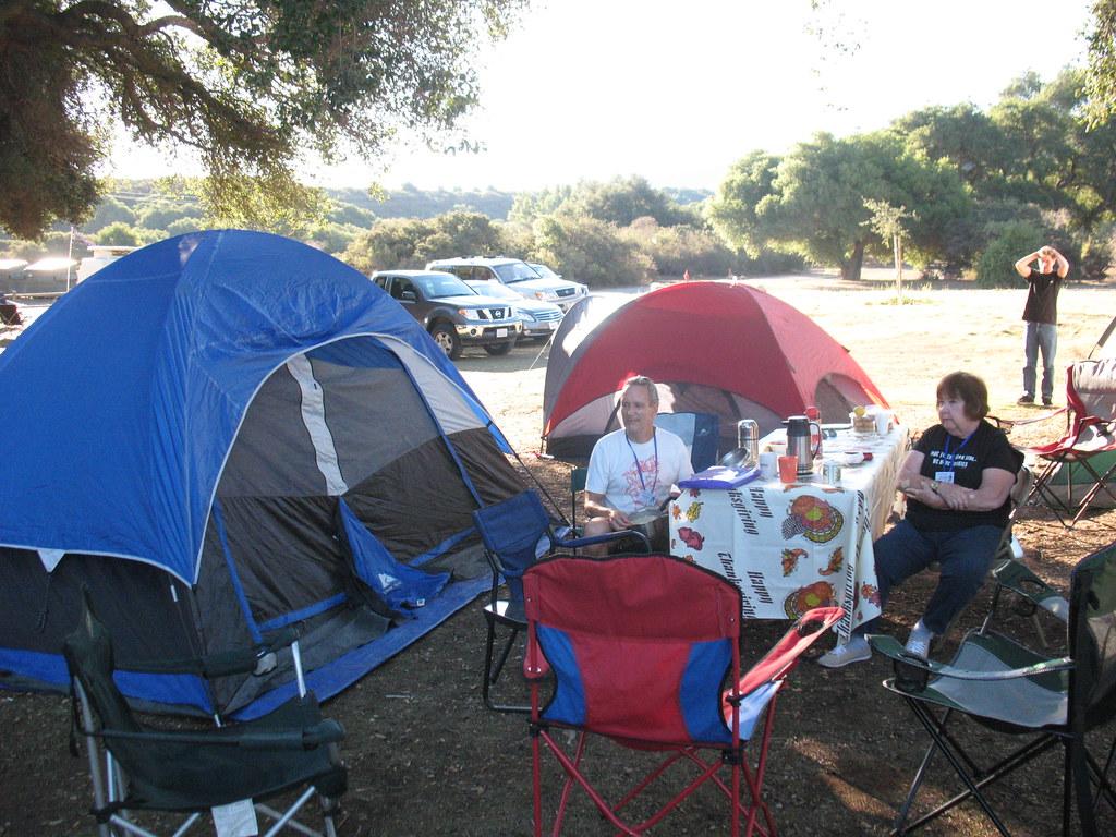 20091017 Cachuma Lake - Tent Camping | Above photo taken ...