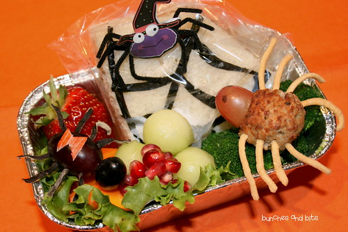 Halloween Week Bento #5 - Spider Species | by Bunches and Bits {Karina}