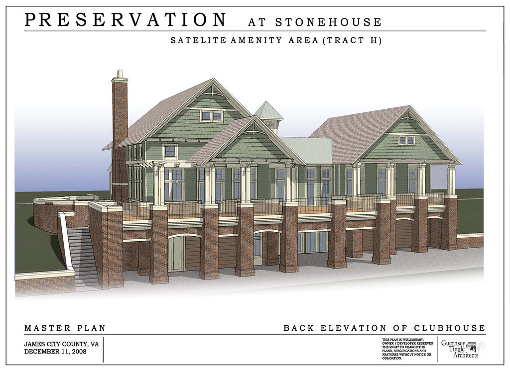 Club House At The Preserve At Stonehouse Located On 5700