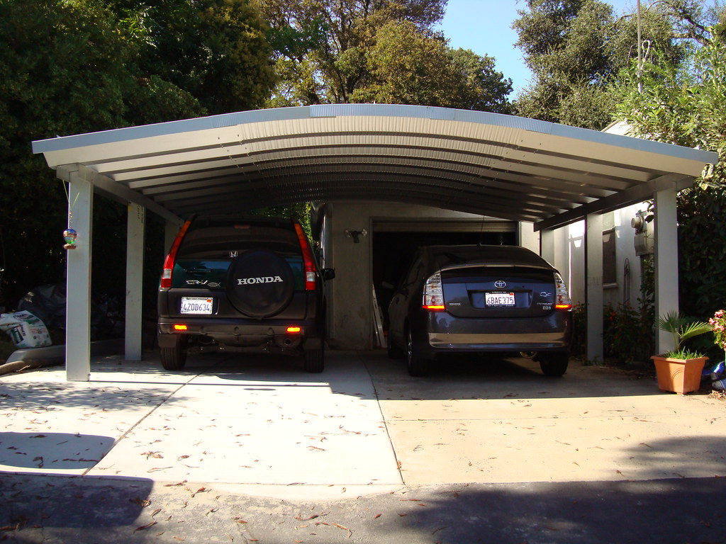 steelmaster metal two car carport steelmaster metal two ca flickr. Black Bedroom Furniture Sets. Home Design Ideas