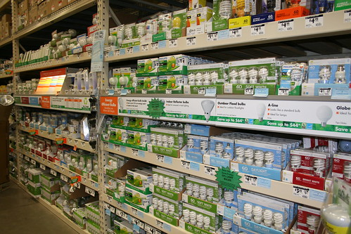 CFLs for Sale at Home Depot | by WNPR - Connecticut Public Radio