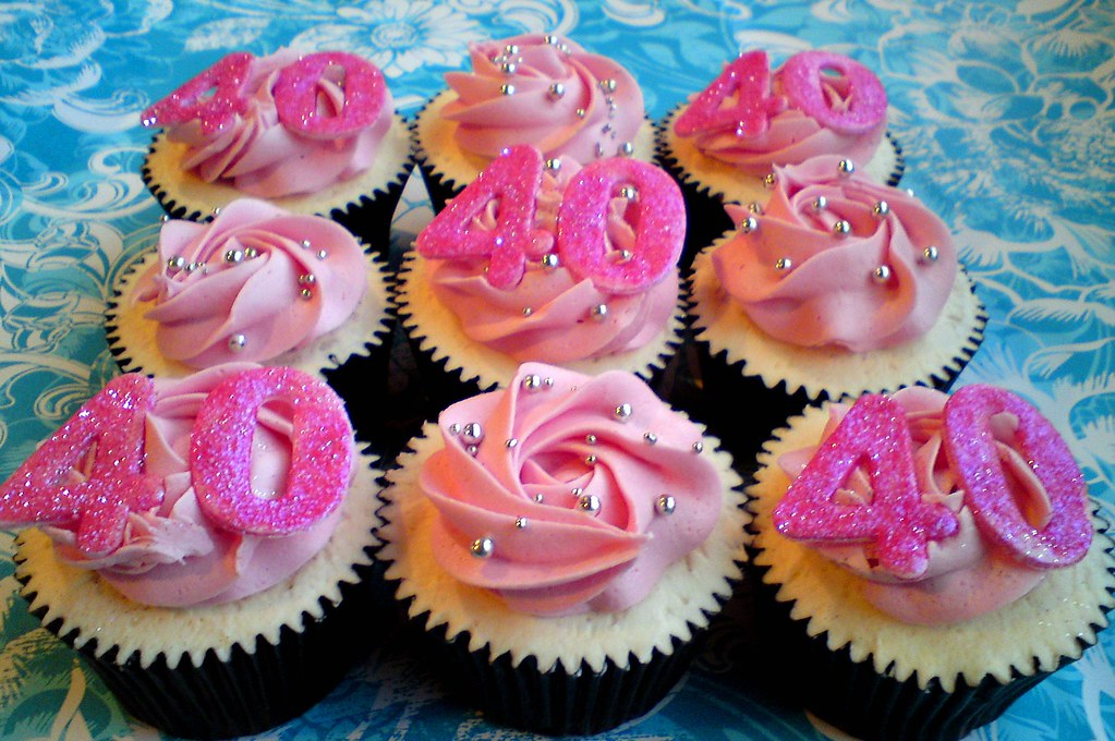 Pink Birthday Cakes With Bling