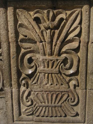 Stone carving iglesia de san francisco la paz bolivia
