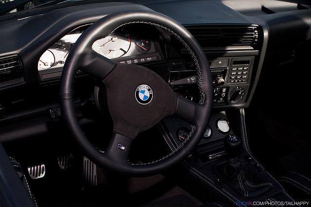 Bmw E30 M3 Dinan Interior Tail Happy Flickr