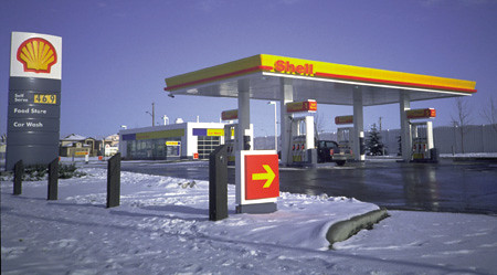 Shell Petrol Station Shell Petrol Station Minale