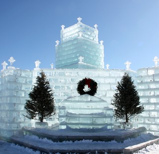 Eagle River Ice Castle 2010 | by akahodag