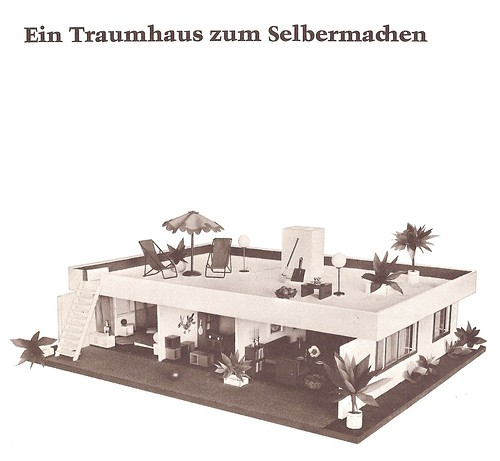 1968 puppenhaus zum selber bauen traumhaus 1968 german d flickr. Black Bedroom Furniture Sets. Home Design Ideas