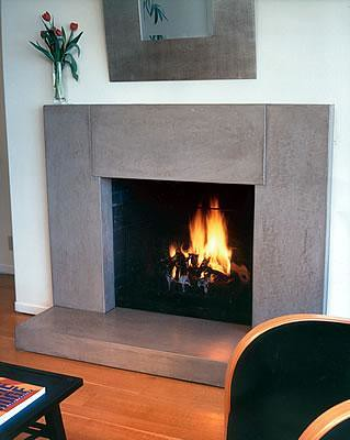 Grey fireplace surround | OHI Concrete Design | Flickr