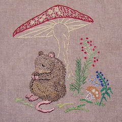 Dormouse and Toadstool | by Bustle & Sew