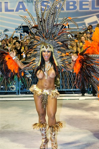 Carnival in Rio Sexy girl boob | Terry George | Flickr