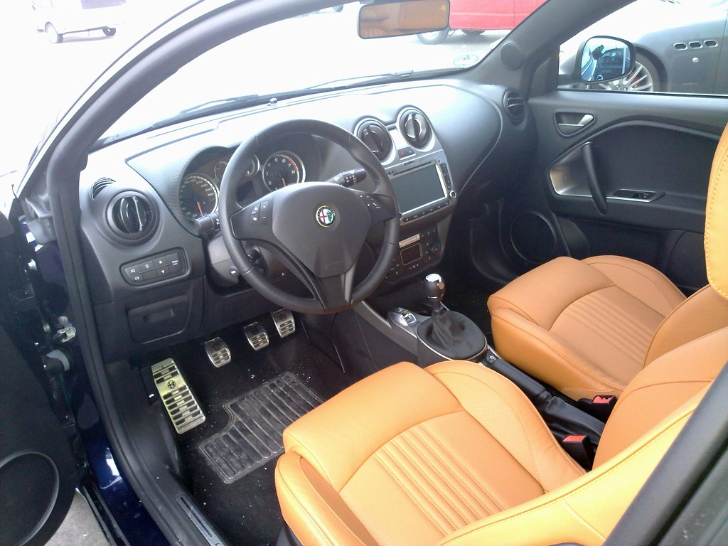 alfa romeo mito interieur by andy_bb