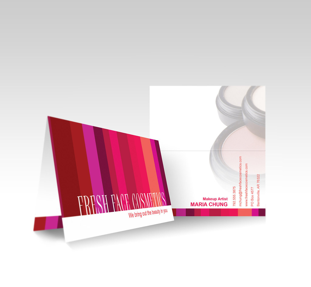 vistaprint folded business card avon check out more temp flickr