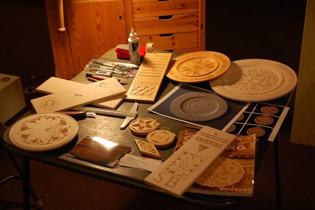 Chip carving demonstration project december