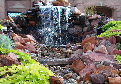 Natural WaterFall Designs | by DaySpring Outdoor Living Creations