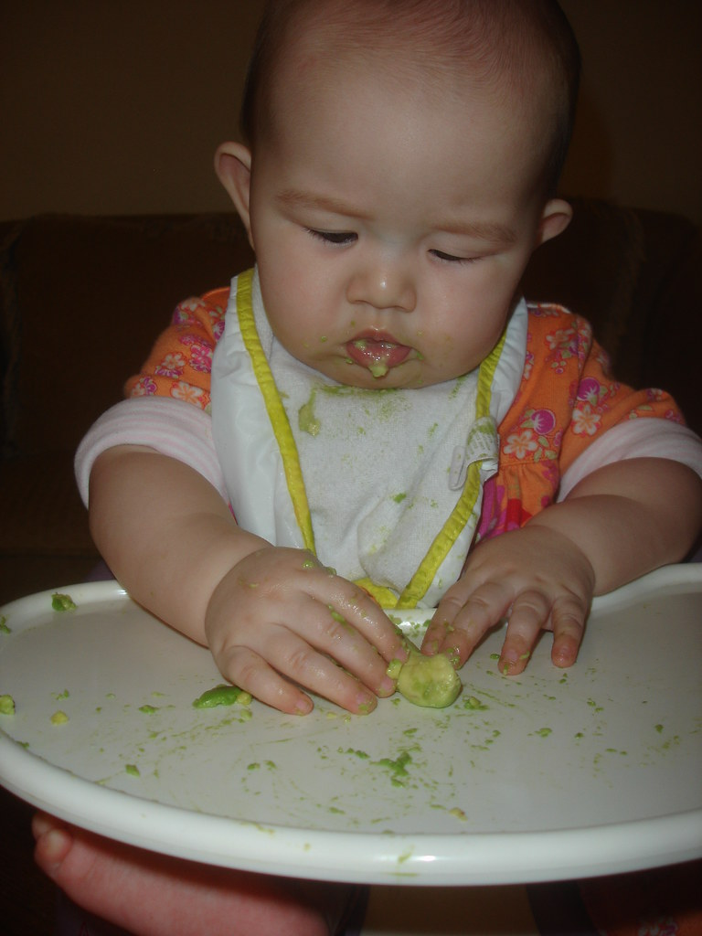 Baby Led Weaning Baby Throws Food On Floor