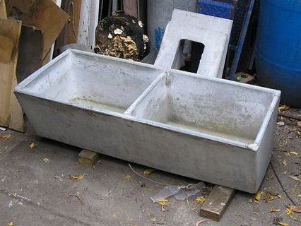 Trough Kitchen Sink