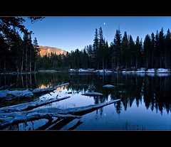 Night Lake and Moon II | by TomGrubbe
