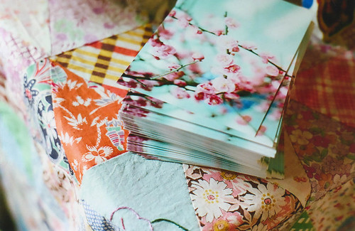 blossoming cards | by abbytrysagain