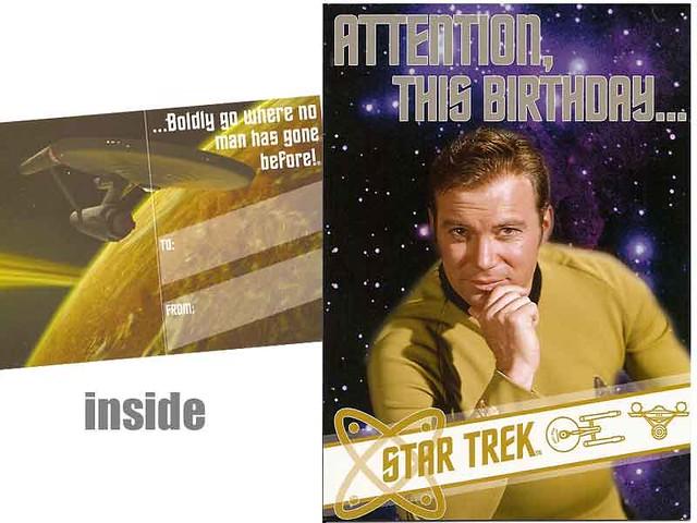 Star trek birthday cards freepost greeting cards shopwho flickr star trek birthday cards by who ray bookmarktalkfo Image collections