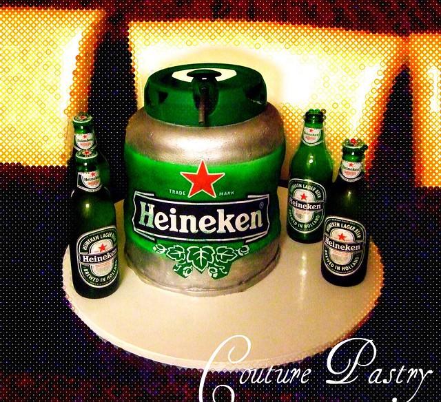 Heineken Cake Pan