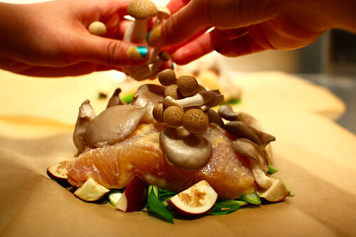 Mushroom & Miso Cod en Papillote | by Melody Fury