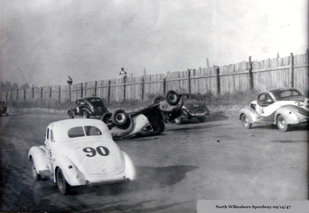 North Wilkesboro Speedway 1947 A Wonderful Old Photo