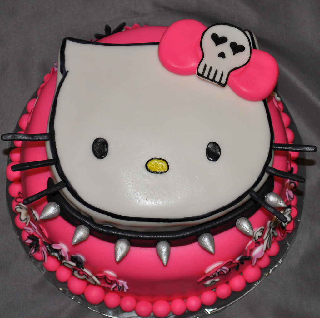Birthday Cake Pictures Hello Kitty : Hello Kitty Birthday Cake christy lacy Flickr