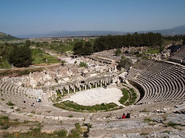 Great Theatre, Ephesus  Flickr - Photo Sharing!