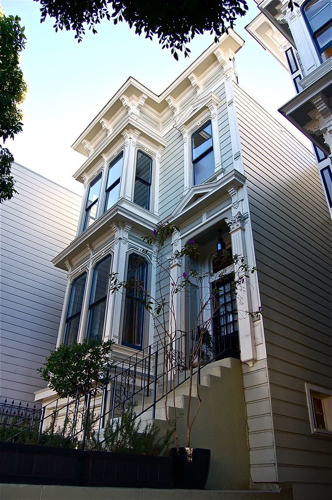 Modern Townhouse Townhouse Designs San Francisco: Fine Victorian Detailing In This W…