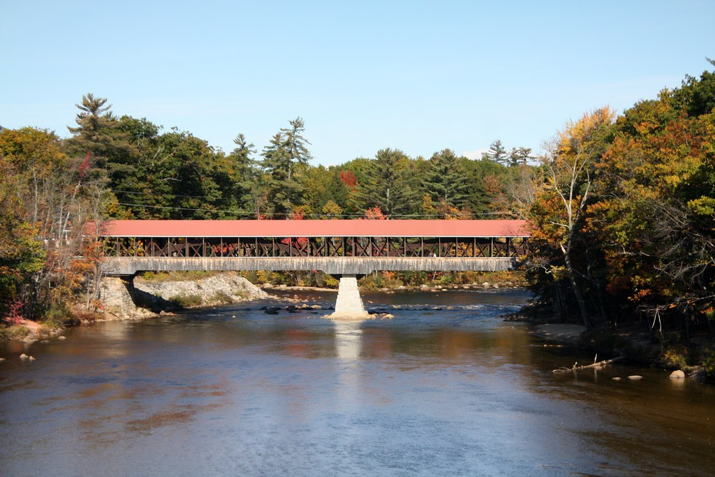 Saco River Covered Bridge (Conway, New Hampshire ...